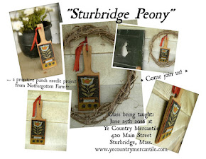 Sturbridge Peony Punch Needle Class
