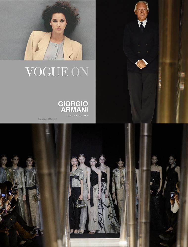 Vogue on Giorgio Armani Biography Book / best fashion books / fashion book releases 2015 / via fashioned by love british fashion blog