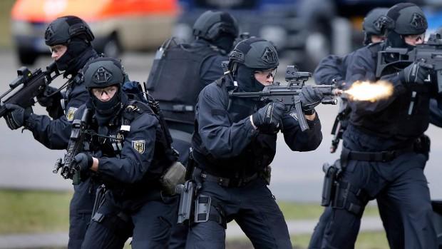 Les Forces d'interventions de la Police Allemande