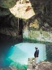Cuevas y cenotes