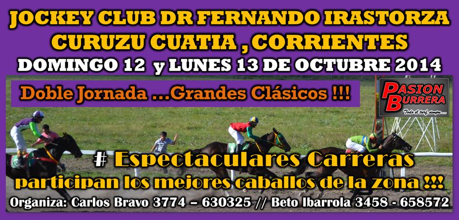 CURUZU CUATIA - 12 Y 13 DE OCTUBRE