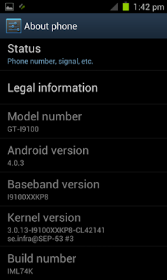 Install Android 4.0.3 ICS TouchWiz On Galaxy S II