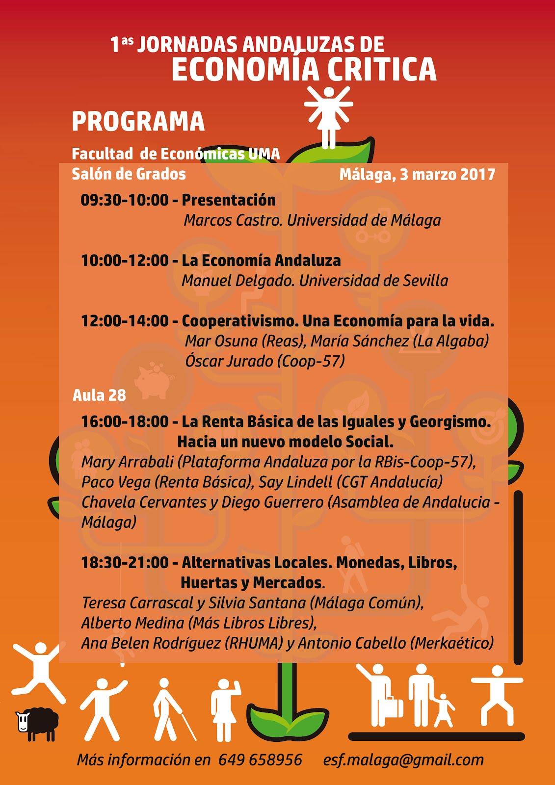 1ª Jornadas Andaluzas de ECONOMÍA CRÍTICA.