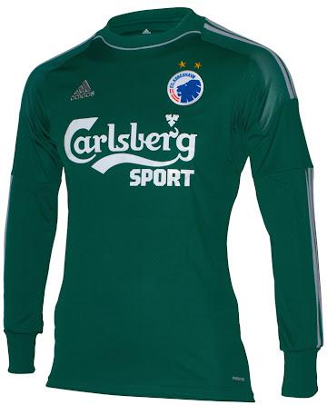 Both fc copenhagen 14 15 goalkeeper kits were exclusively designed for