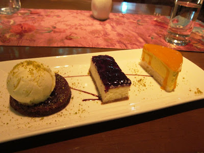 Dessert Trio at My Humble House