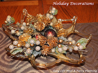 Decorating for the Holidays - Easy Life Meal & Party Planning - Easy Christmas Arrangements