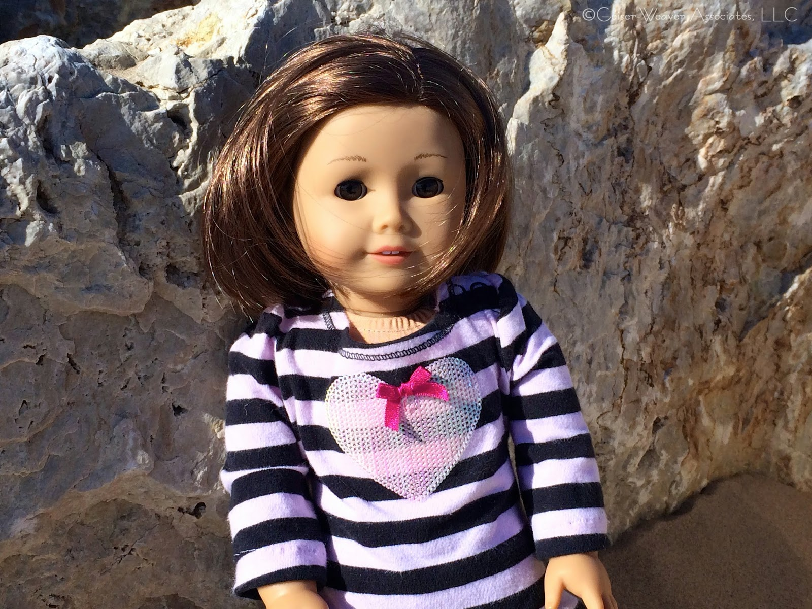 Geiser Weaver Associates LLC doll clothes: Renee goes to South Haven