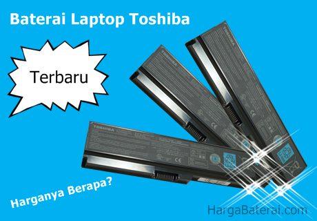 Harga baterai Laptop Toshiba Original 2016