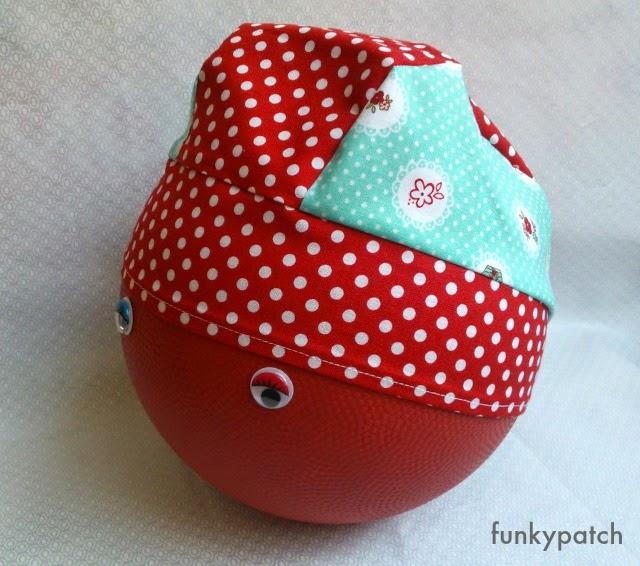 bandana para niños con estampado de caperucita roja funkypatch