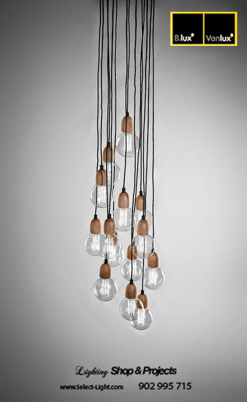 Comprar lampara Ilde Wood