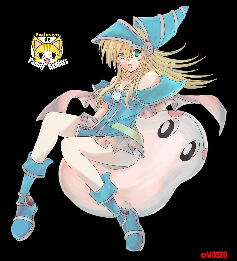 Render Dark Magician Girl + Marshmallon