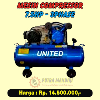COMPRESSOR 7.5HP-3PHASE