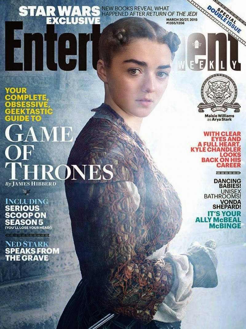 Actress @ Maisie Williams - Entertainment Weekly, March 2015