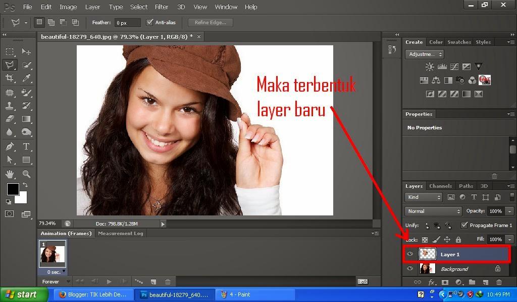 Cara Menghaluskan Foto Wajah | Photoshop