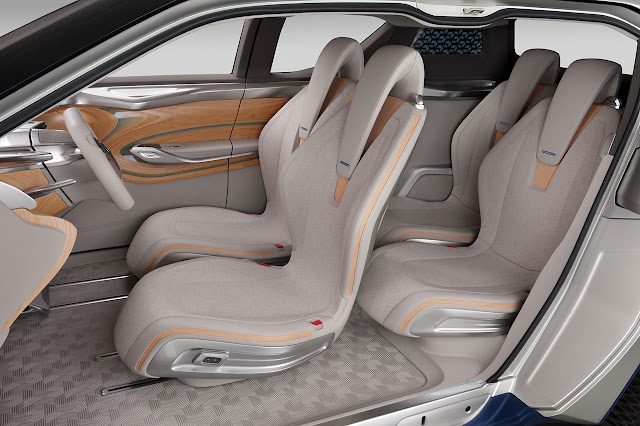 Nissan TeRRA SUV Concept 2012 interior 2