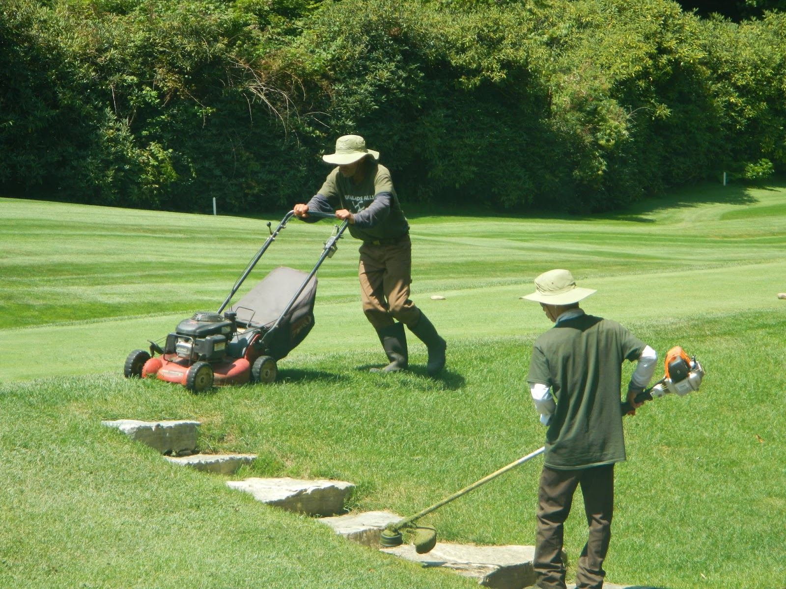 Highlands falls country club golf course maintenance a