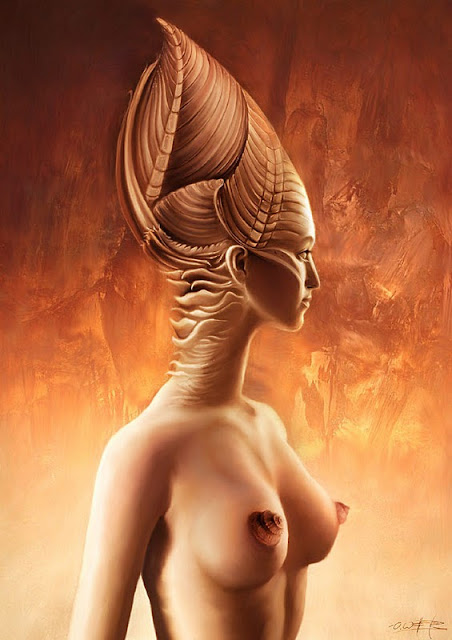 Fantasio Fine Arts, illustrations from artist Oliver Wetter