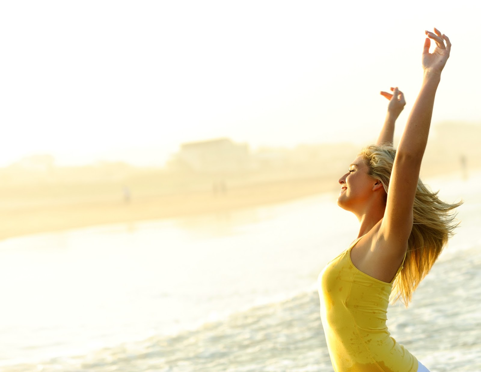 Get the ultimate beach body by working out hard enough and burning fat.