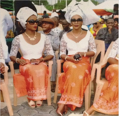 Actress Genevieve Nnaji Looks Stunning At Traditional Wedding Ceremony – Photos