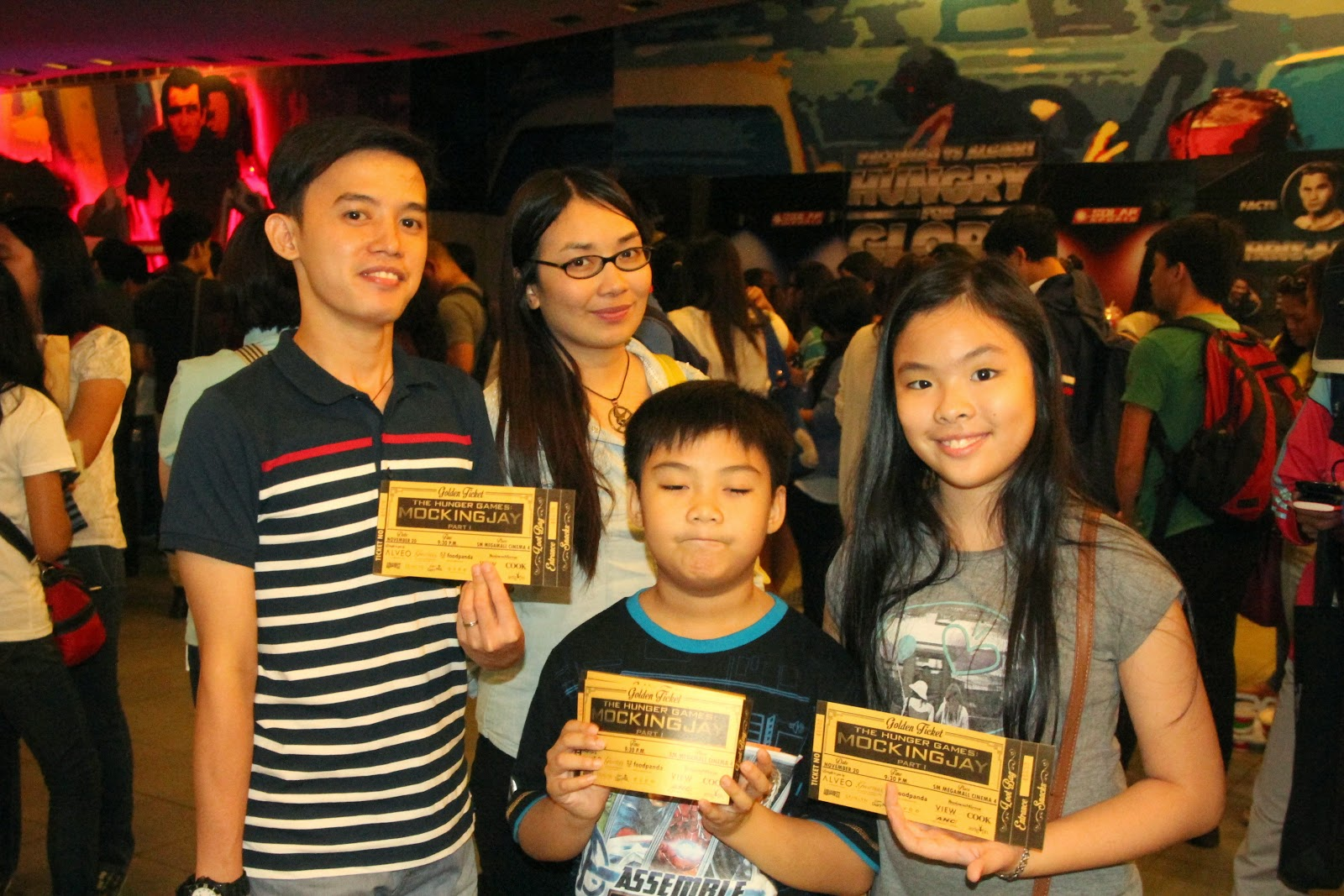 golden ticket mockingjay megamall