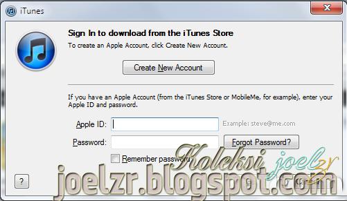 Cara Mendaftar iTunes Apps Store Apple ID Tanpa Kartu