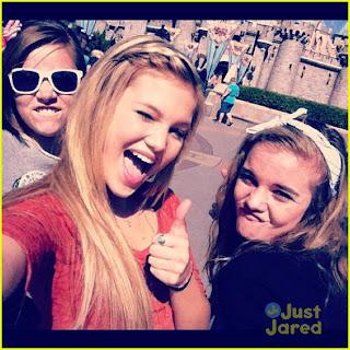 Gossip Journal: Olivia Holt at Disneyland!