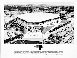History of the Pontiac Silverdome Stadium
