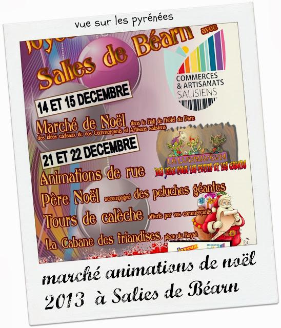 Marché de Noël 2013 à Salies-de-Béarn