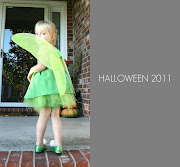 I should have known Tinkerbell would be the decided upon costume this year.