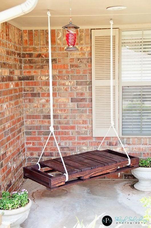 Villa electro: outdoors upcycling   med paller