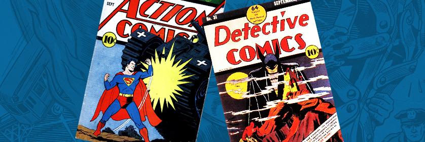 Action Comics & Detective Comics