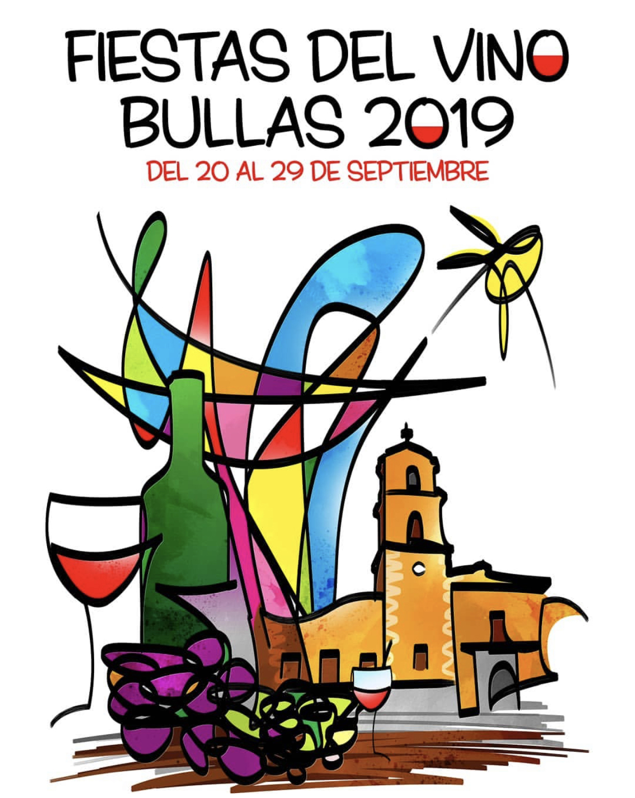 Fiestas del Vino de Bullas 2019.