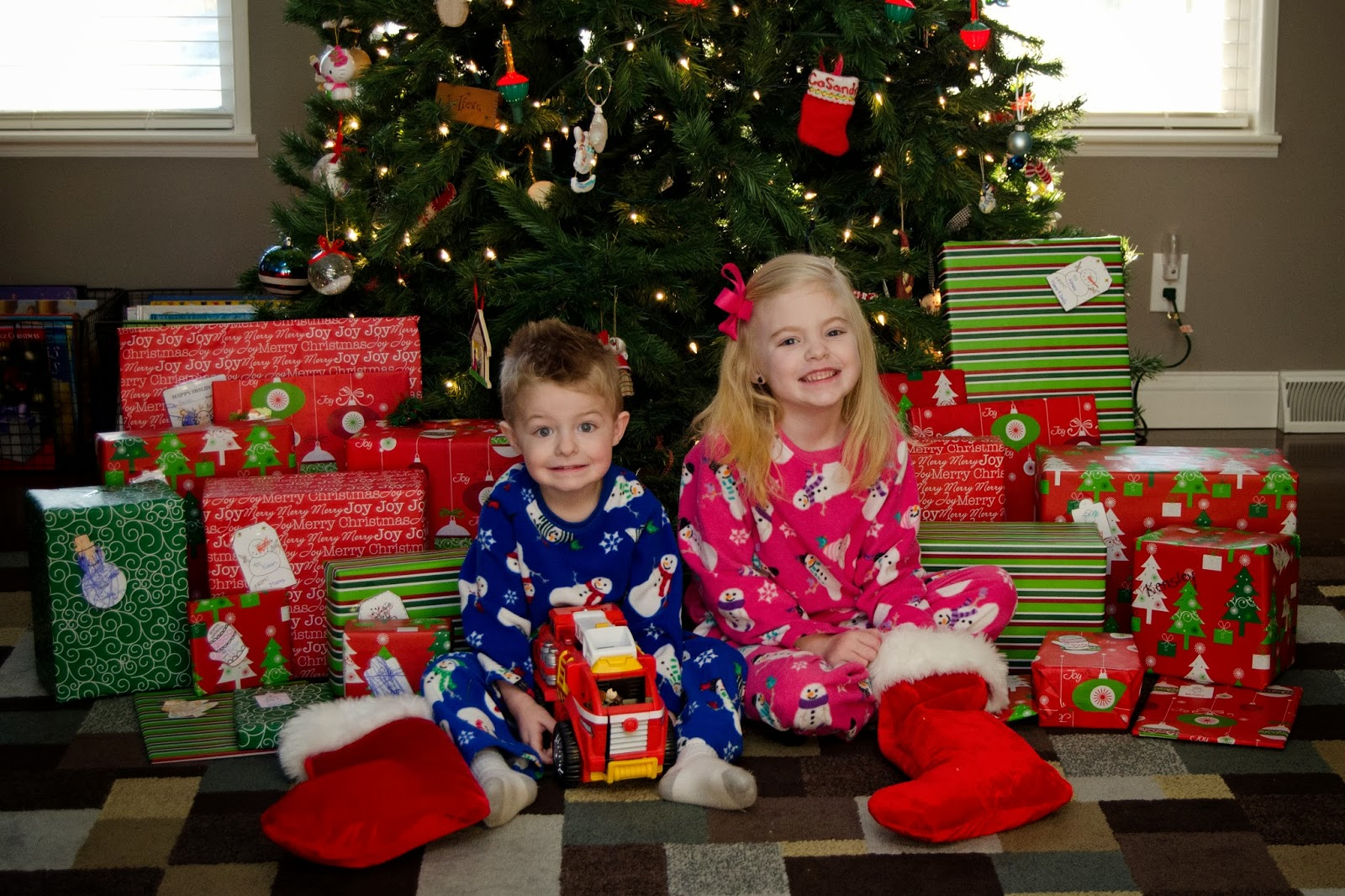 Warm Winter Wishes: Christmas Morning 2013