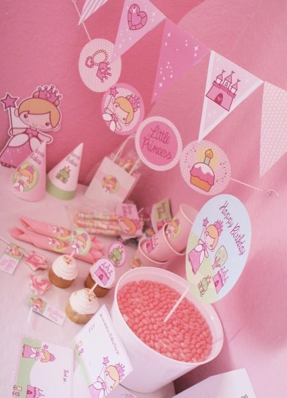 The Princess Birthday Party Idea Best Gift Ideas Blog
