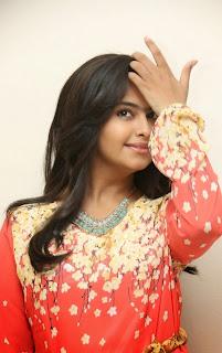 Actress Avika Gor Latest Picture Gallery at Lakshmi Raave Maa Intiki Trailor Launch 13