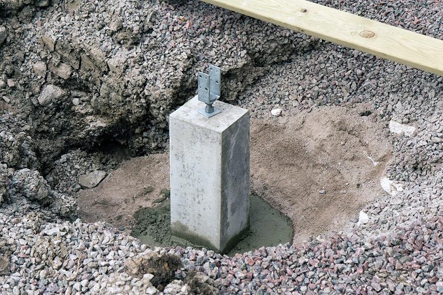 gjuta plint betong