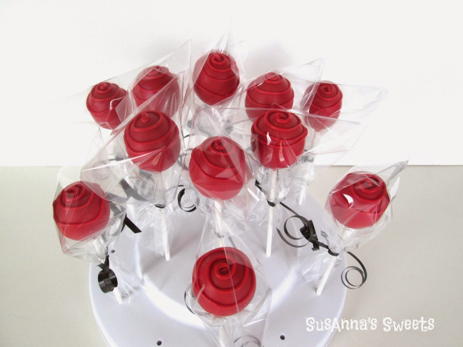 Susannas Sweets Mothers Day Flower Cake Pops