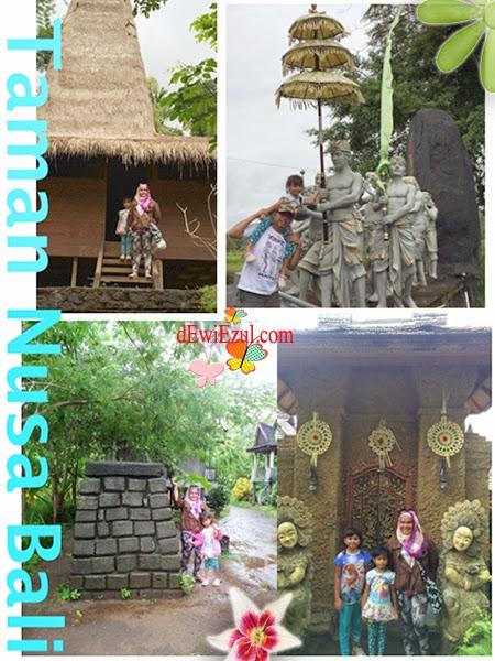review Taman Nusa bali bersama anak