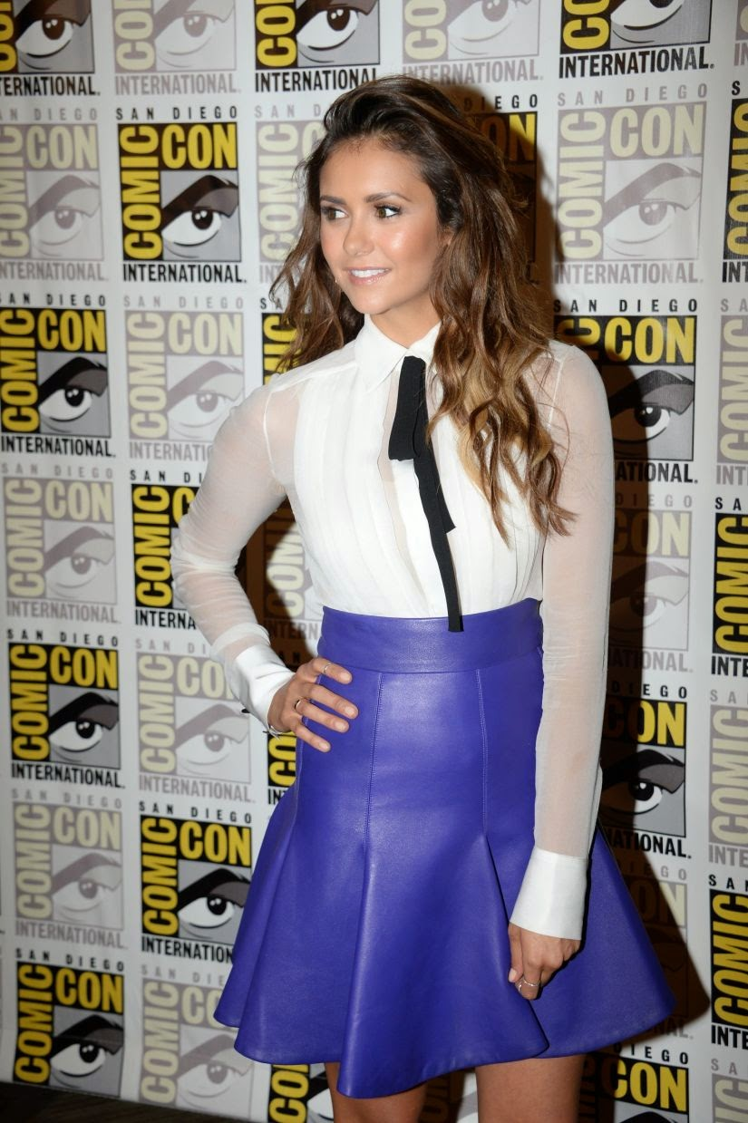 Nina Dobrev Looks Hot at Comic-Con in San Diego