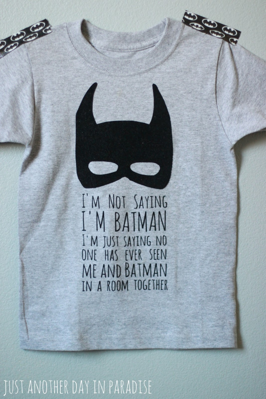 Larissa Another Day: A Pinteresting Wednesday: Batman T-shirt