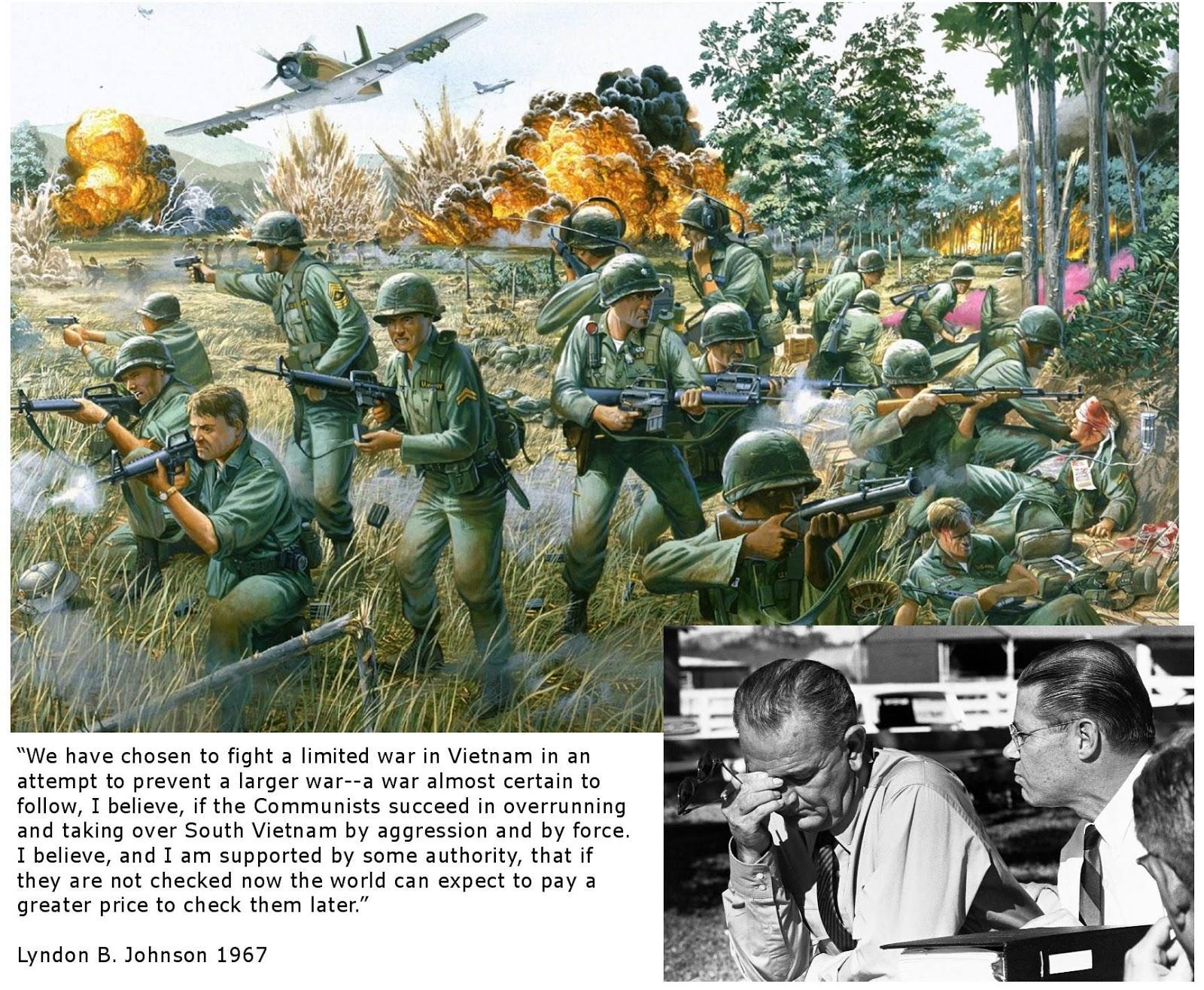 lyndon b johnson and vietnam war Lyndon b johnson: biography of lyndon already frustrated by the demands of the vietnam war, johnson responded with restraint but called up 15,000 navy.