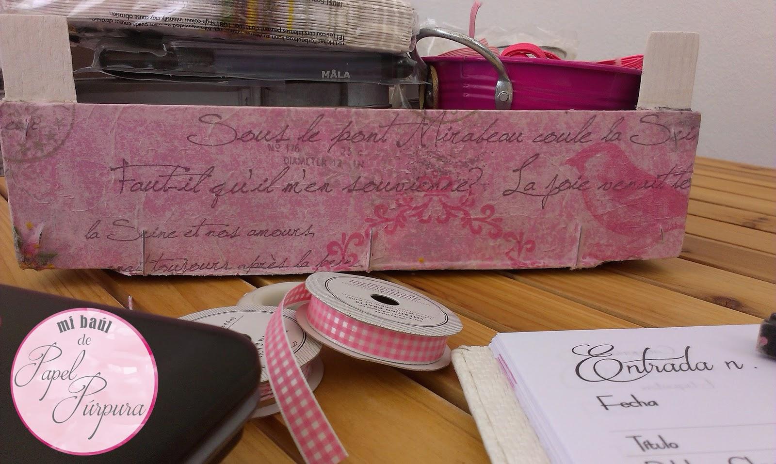 paso a paso para decorar caja de fresas mi baul de papel