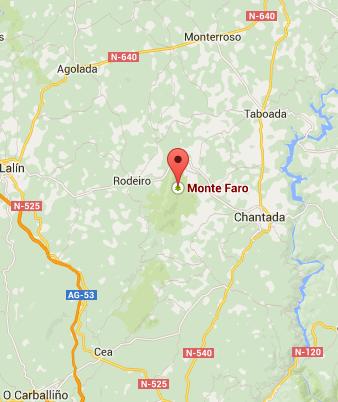 Como llegar a Monte Faro