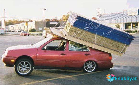 Otomobile 1400kg Yük Nasıl Yüklenir?