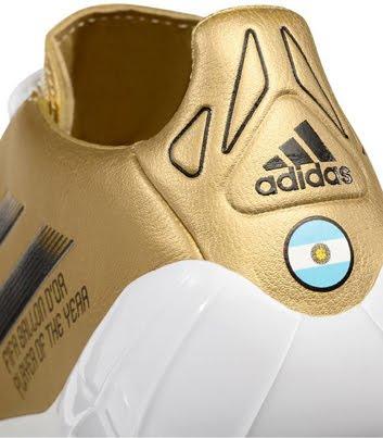 botines Leo Messi Adidas balón de Oro