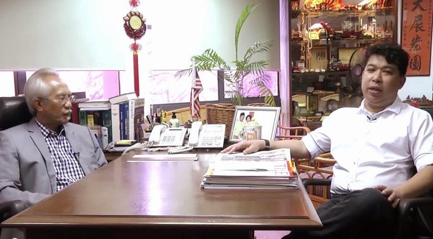 6 Minutes With Datuk A Kadir Jasin