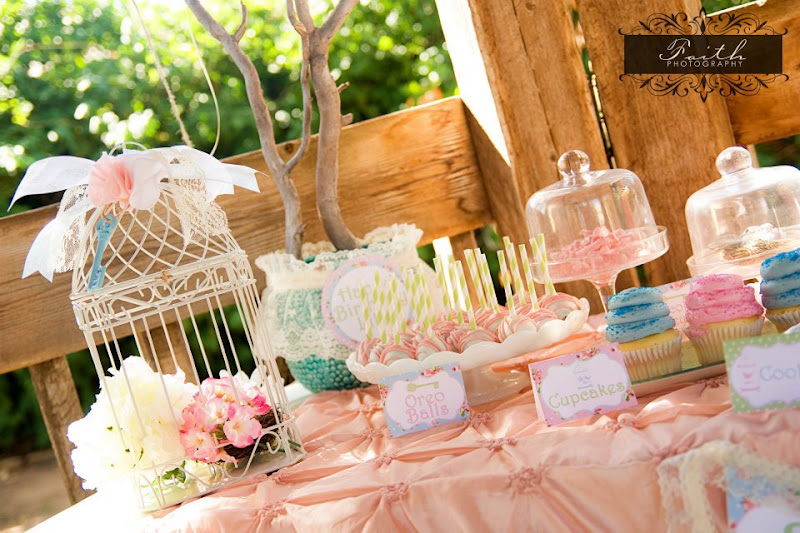 7th Birthday Secret Garden Party - Garden Party Ideas