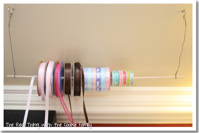 how to make a ribbon picture holder