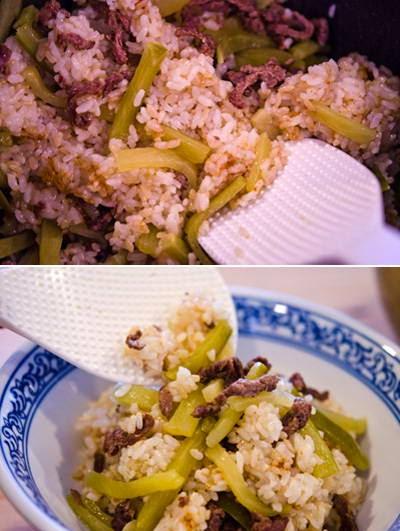 Vietnamese Food - Cơm Trộn Thịt Bò và Củ Cải