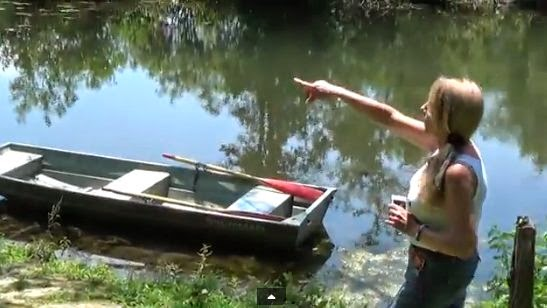Bigfoot Scares Fisherman